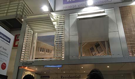 Sistemas elevables de Renson | BAU 2015 - Visita Vicent Torres