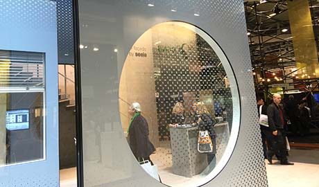Vidrios serigrafiados para fachadas | BAU 2015 - Visita Vicent Torres