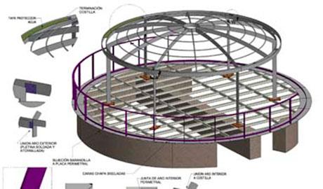 Plano en 3D generado por el departamento técnico de Vicent Torres