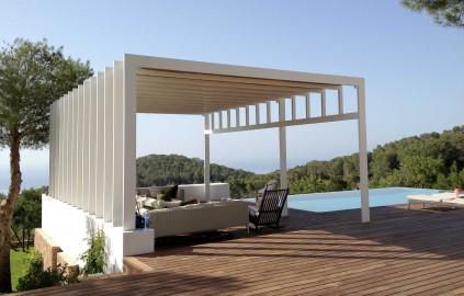 Pérgola de jardín en Ibiza | Vicent Torres