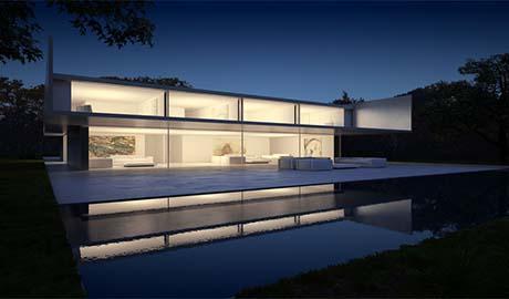 MDI. La casa de aluminio por Fran Silvestre Arquitectos