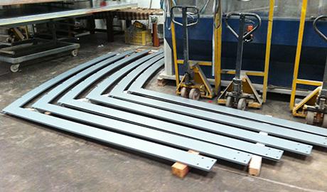 Patas fabricadas y mecanizadas en taller Vicent Torres