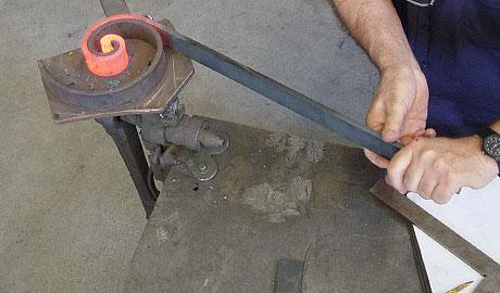 Forjado tradicional del hierro